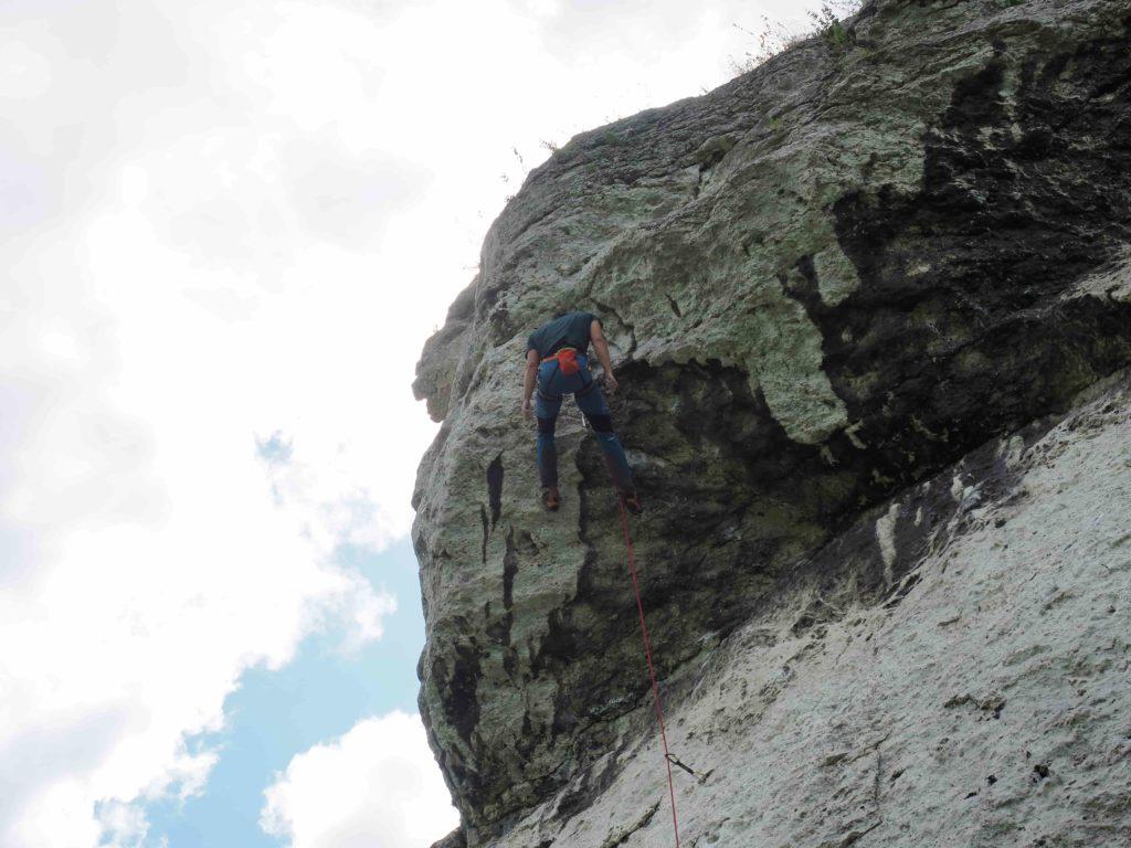 wspinaczka skałkowa na Jurze